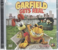 Garfield Gets Real 2 Disc DVD Movie Like New CGI Feature Length