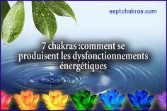 Comment se produisent les blocages énergétiques des chakras? Les émotions négatives peuvent bloquer la libre circulation de l'énergie à travers nos chakras. La colère, l'agressivité, le ressentiment, l'anxiété, le manque de confiance, l'envie et la peur etc. créent un obstacle à notre développement. #blocagechakras #dossiersakashiques #dysfonctionnementsénergétiques #karma Tu Me Manques, 7 Chakras, Circulation, Karma, Envy, Health Challenge, The Emotions, Self Confidence