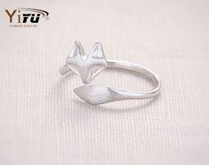 Fashion Fox's Head Ring Cute Animal Open Fox Ring for Women Party Gift Simple Lovely Ring Fox Wedding Gifts R017 //Price: $7.95 & FREE Shipping // #beautiful #girl #girls #design #model #styles #outfit #purse #jewelry