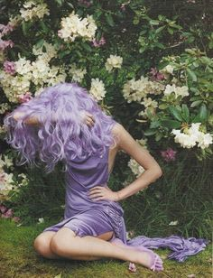 Lilac lovely. Amazing colour..