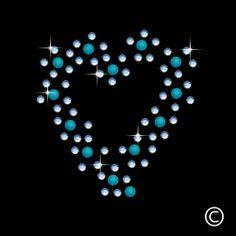 Sky Blue Heart Iron On Hotfix Diamante Motif Rhinestone Transfer Twisted Envy  http://www.amazon.com/Heart-Hotfix-Diamante-Rhinestone-Transfer/dp/B00ELAWMCE