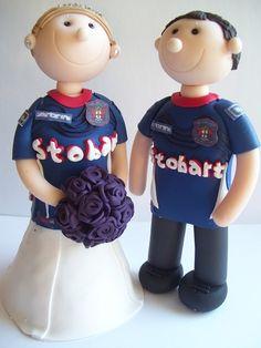 Eternal Cake Toppers - Football fans gallery | eternalcaketoppers.com
