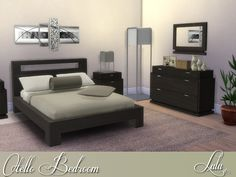 Otello Bedroom Set by Lulu265 at TSR • Sims 4 Updates