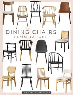New Dining Chairs–Better in The Dining Room or Breakfast Nook? Florida Decorating, Black Dining Chairs, Breakfast Nook, Farmhouse Style, Dining Room, Joy, Furniture, Home Decor, Decoration Home