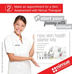 Health and Skin Care Products www.nimueskin.com  www.facebook.com/NimueSkin New Skin, Starter Kit, Appointments, Journey, Skin Care, Facebook, Health, Products, Health Care