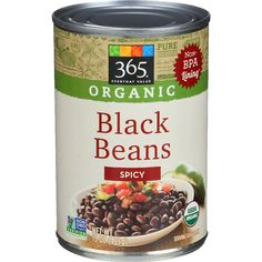 365 Everyday Value, Organic Black Beans Spicy, 15 Ounce         -- Read more reviews of the product by visiting the link on the image. (This is an affiliate link) #PrimePantry