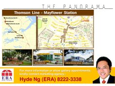 The Panorama located at Ang Mo Kio Ave 2, another prestigious development by Wheelock Properties. Exclusive 555units and minutes to future Mayflower MRT. Call/SMS ERA Hyde at 82223338 to register your interest now!!