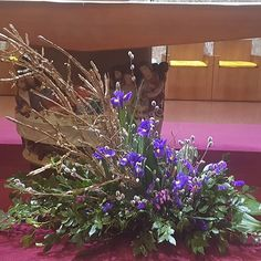 Photos tagged with Altar Flowers, Floral Arrangements, Flower Arrangement, Lent, See Photo, Oriental, Photo And Video, Church Ideas, Inspiration