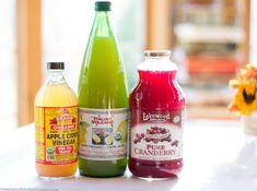 Cranberry, Apple Cider Vinegar & Lemon Juice Drink