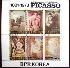 Image result for korea picasso stamps