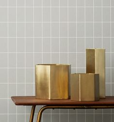 Objects of Design #310: Brass Vases | Mad About The House