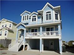 This is an amazing house with an unique and spacious floor plan and fantastic ocean views. Enjoy the oceanfront screened in porch and the hot tub on ...