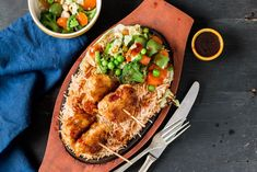 Mushroom Cutlet Vegetarian Sizzler Recipe is a complete meal with a lot of mixed items on served on sizzling hot plates. Sizzler is served with either rice or noodles, along with chunky bites of stir fried vegetables, yummy spicy sauces and some kebabs or cutlets is added to make it a complete meal. Here, I have paired rice with stir fried veggies and yummy - crunchy mushroom cutlet on top. Serve Mushroom Cutlet Vegetarian Sizzler Recipe as a one dish for weekend dinner. Here are a few m...