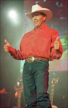 The most attractive man in the world... George strait!