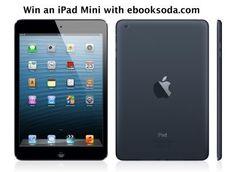 Win an iPad Mini via eBookSoda, a new site for readers. Easy entry here:  http://someonewotwrites.blogspot.co.uk/2013/11/win-ipad-mini.html