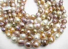 Baroque Freshwater Pearls Natural Color