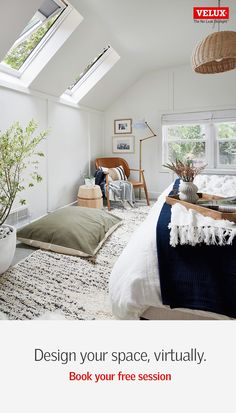 Suite Principal, Attic Bedrooms, Attic Remodel, Dream Bedroom, Home Remodeling, Living Spaces, Sweet Home, Bedroom Decor, New Homes