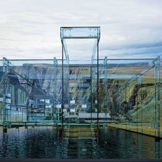 All glass house by Carlo Santambrogio  Intense...