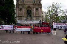 150 people took part in demanding freedom for Georges Abdallah in Paris 9 May(2)