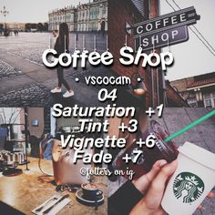 Coffee Meets Bagel Premium nor Coffee Shops Near Me Coffee Shop Photography, Photography Filters, Tumblr Photography, Photography Editing, Vsco Cam Filters, Vsco Filter, Instagram And Snapchat, Instagram Feed, Vsco Themes