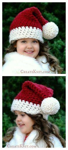 The Santa Hat Free Crochet Pattern