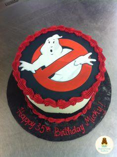 Ghostbusters Birthday Cake