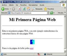 MI PRIMERA PÁGINA WEB