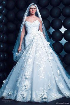Nicolas Jebran Spring 2013 Couture Collection | Wedding Inspirasi