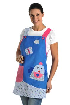 €23,50 - Estola Maestra modelo Gallinita - 8357 Sewing Kids Clothes, Sewing For Kids, Teacher Outfits, Couture, Baby Bibs, Quilting Projects, Hand Towels, Casual Chic, Sewing Crafts