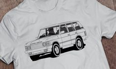 Vector illustration work used for t-shirts and posters. Range Rover Classic, Posters, Creative, Illustration, Mens Tops, T Shirt, Fashion, Supreme T Shirt, Moda