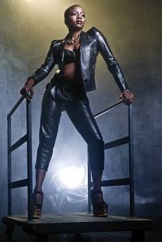 Danai Gurira as Storm (W/white Mohawk)