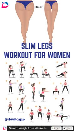 Slim Legs Workout For Women