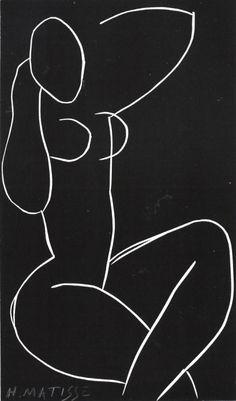 Nude Seated with Crossed Legs /Henri Matisse