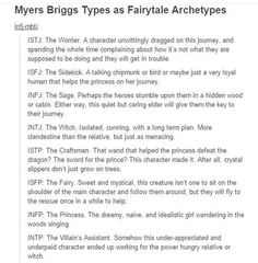 MBTI Fairytale Archetypes Part 1 ~ I'm ISTJ & yeah, I could see myself doing that Personality Psychology, Intj Personality, Myers Briggs Personality Types, Istj, Enfp, Introvert, Intj And Infj, The Villain, Funny