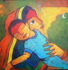 Last 1 day is remaining to buy a beautiful painting of the most selfless, pure and unconditional love of a mother with our online art exhibition. Art Hub, Acrylic Canvas, Angel Art, Online Painting, Mother And Child, Mothers Love, Indian Art, Beautiful Paintings, Online Art Gallery