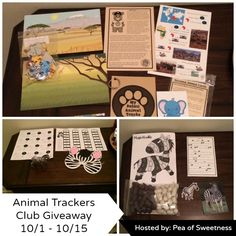 Animal Trackers Giveaway (ends 10/15) USA -gt:  Animal Trackers Club Giveaway Sponsored by Animal Trackers Club Hosted by Pea of Sweetness Co-Hosted by Joan's 5 Star Reviews and Deals of Sweetness... ~  http://www.singlemommies.net/2014/10/animal-trackers-giveaway-ends-1015-usa-gt/