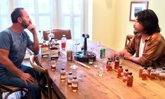 The Chef And The Bourbon Guy: A Kentucky Bromance - Put a chef and a master bourbon blender in a room together and what do you get? Gossip. Football talk. Also, it turns out, some pretty kickass bourbon, as we found out when hanging out with Edward Lee