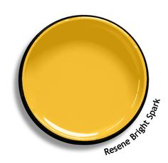Resene Bright Spark is a hot sizzle of yellow. An undercoat is recommended for the optimum finish. View on Resene Multi-finish palette View this and of other colours in Resene's online colour Swatch library Yellow Paint Colors, Yellow Painting, Colour Pallete, Color Schemes, Color Palettes, Jaguar Colors, Resene Colours, Yellow Doors, Pallet Designs