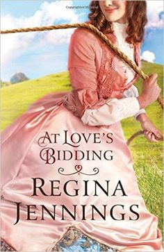 Regina Jennings is one of my go-to authors when I want to read something that will make me swoon and grin all at the same time.  At Love's Bidding, the second book in her Ozark Mountains series, do...