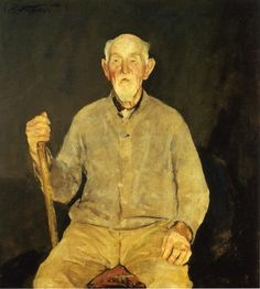 Clipper-Ship-Captain by Charles Webster Hawthorne