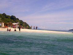 Mutun beach, lampung. Indonesia