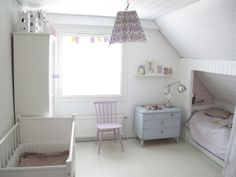 Loving White  What a clever use of space this is