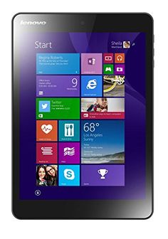 Lenovo MIIX 3 7.85-Inch Tablet (Intel Atom Z3735F 1.33 GHz, 2 GB RAM, 32 GB eMMC, Camera, Wi-Fi, Windows 8.1)