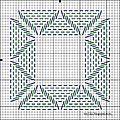 joli motif au point grain d'orge tres facile a faire http://ravliki.blogspot.com.br/2011/11/swedish-weaving-tutorial.html ...