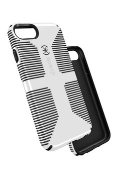 CandyShell Grip iPhone 6/6s/7 Case - Black/White