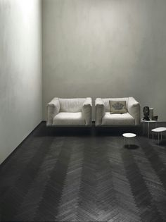 Kerakoll, Lipp armchair by Piero Lissoni