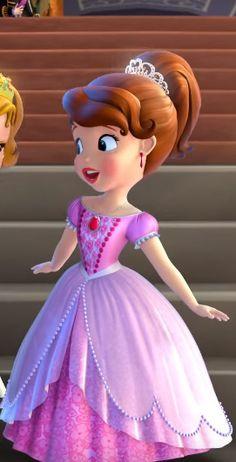 Disney Princess Cupcakes, Disney Princess Frozen, Cinderella Disney, Disney Rapunzel, Sofia The First Cartoon, Sofia The First Characters, Girl Cartoon Characters, Princess Sofia Dress, Girls Princess Room