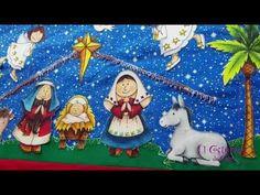 Christmas Crafts, Christmas Tree, Christmas Ornaments, Tree Skirts, Kids Rugs, Disney Princess, Holiday Decor, Disney Characters, Youtube