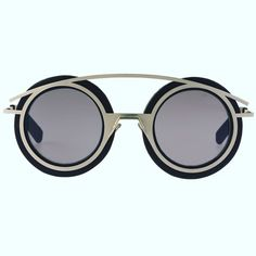 TRENDING: Round frames from Tom Rebl Eyewear. Zippertravel. #DrStyle