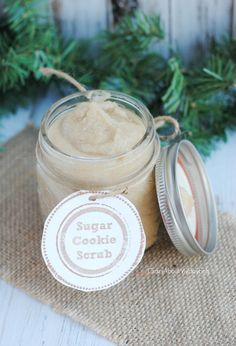 Sugar+Cookie+Scrub+Recipe+ +Last+Minute+Handmade+Gift
